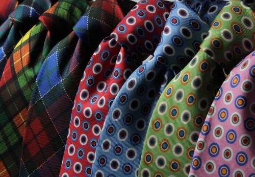 Hабор мужских галстуков